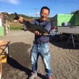 マリン社長の釣り道場『サケ釣り』②